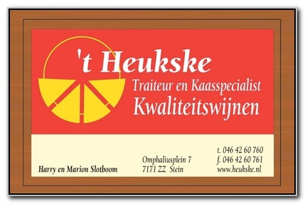 t Heukse Traiteur en Kaashandel